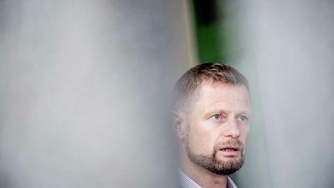 Helseminister Bent Høie er glad det er han som har styringen med ikt-situasjonen i sykehusene.