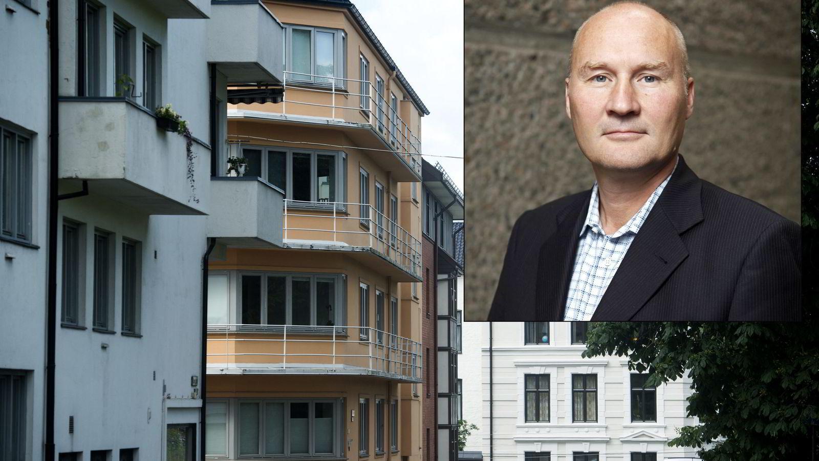 Nordmenn putter altfor mange egg i én kurv, administrerende direktør Bernt S. Zakariassen i VFF.