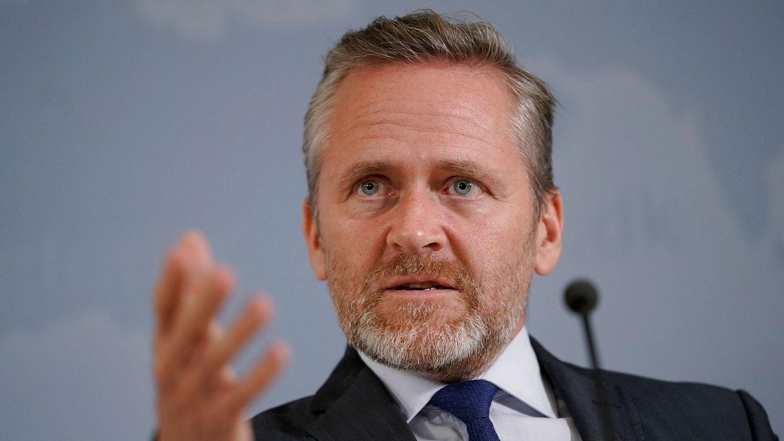 Ifølge Danmarks utenriksminister Anders Samuelsen har EUs ministerråd har vedtatt sanksjoner mot Iran.