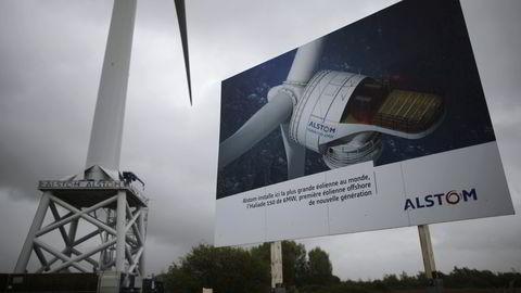 Den franske kraft-og industrigiganten Alstom kan få nye eiere etter at både amerikanske GE og tyske Siemens har meldt sin interesse. Foto: Reuters/Mahe