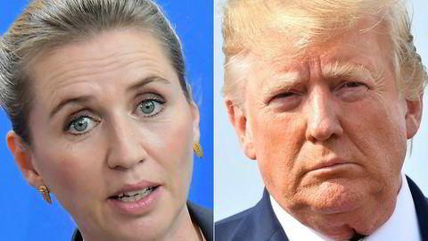 – Vår invitasjon står fast, sa Mette Fredriksen til pressen onsdag ettermiddag etter at Donald Trump avlyste turen til Danmark.