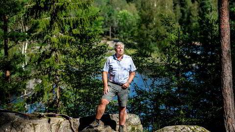 Olav Dalen Zahl gikk torsdag tur rundt Nøklevann for å tenke på hva han skal gjøre fremover.