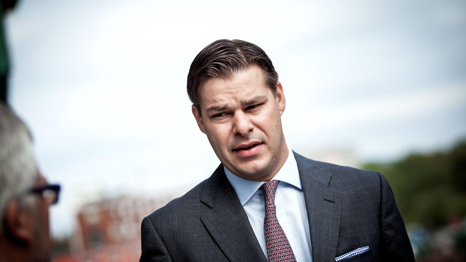 Finansdirektør Rune Magnus Lundetræ i Seadrill.
