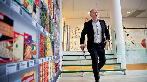 MARGINJAKT. Ica-Norge-sjef Thorbjørn Theie håper å få være med giganten Norgesgruppen på årets «høstjakt», men forbereder seg også på å måtte gå solo.                    Foto: Aleksander Nordahl