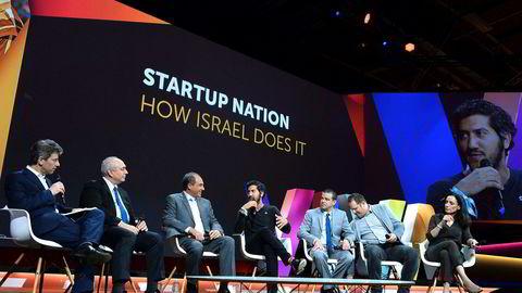 Norge kan ha mye å lære av israelsk startup-kultur mener artikkelforfatteren. Israelene selv har villig delt sine erfaringer med andre, som her ved et event i Paris i 2016.