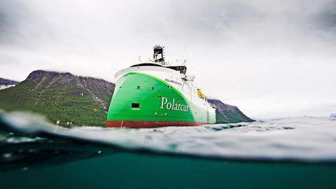 Ved utgangen av andre kvartal 2016 hadde Polarcus fått betalt for tre kontrakter på 150 millioner dollar. Foto: Polarcus