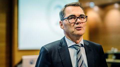 Konsernsjef Svein Richard Brandtzæg i Hydro sier det er for tidlig å si hva som må til for å løse krisen i Brasil.