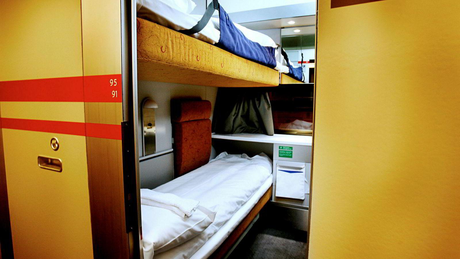 Her hos NSB/Vy kan folk sove med god klimasamvittighet. Og drømme om at det igjen skal gå nattog fra Norge til utlandet.