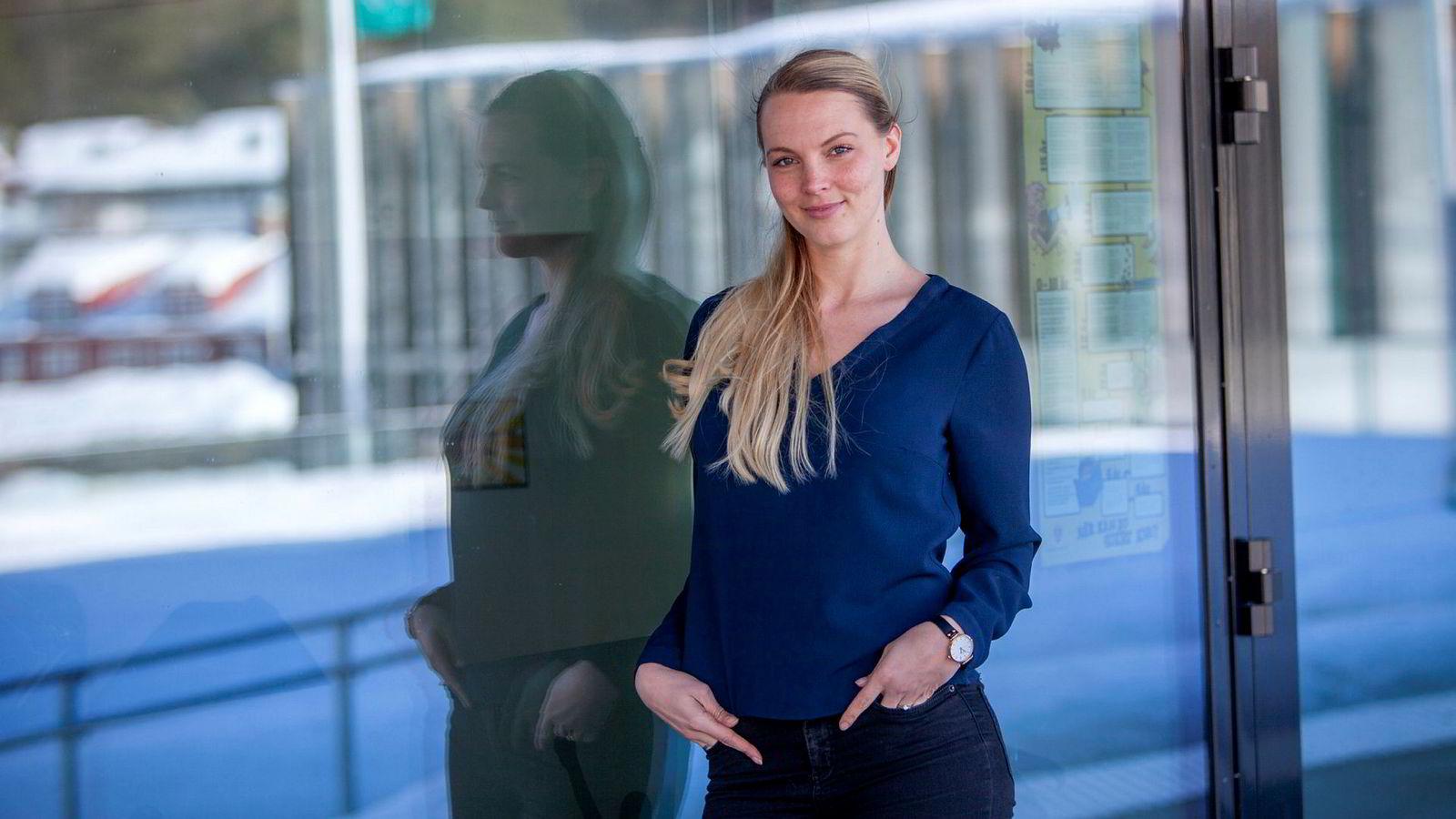 Student Guro Emma Rødsjø sparte penger på å dra på utveksling til Pisa.