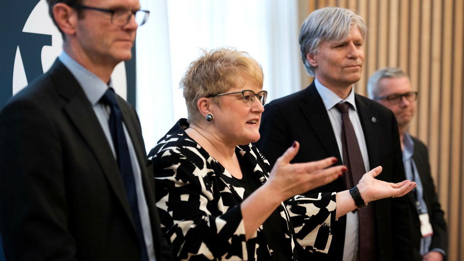 Trine Skei Grande og Ola Elvestuen sier Venstre har hatt en avgjørende rolle i saken.