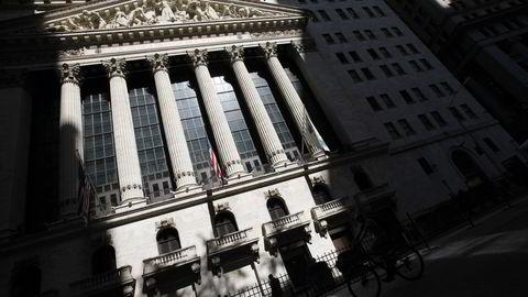Fredag er det nedgang på Wall Street. Foto: AP Photo/Mark Lennihan