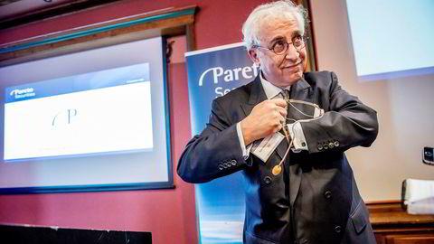 DNO-styreleder og storeier Bijan Mossavar-Rahmani nærmer seg kontroll over oljeselskapet Faroe, og ble torsdag belønnet med markant kursoppgang på Oslo Børs.