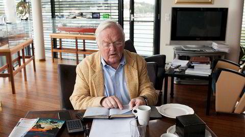 Tankreder Herbjørn Hansson nekter å utbetale pensjon til sin tidligere finansdirektør, Turid Moe Sørensen.