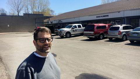 Kunde David Birchard-Weissman har sett kjøpesenteret utenfor Minneapolis falme år for år. Kjøpesenteret like ved ble revet for noen år siden.