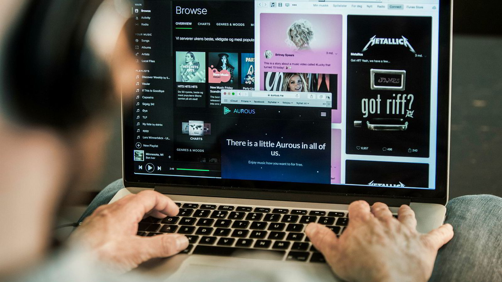 Digital innsikt er viktig for å kunne kontrollere at royalties og utbetalinger fra tjenestene er korrekte i henhold til publikums bruk. Noen bruker også innsikten i skapende prosesser når musikk lages og produseres.