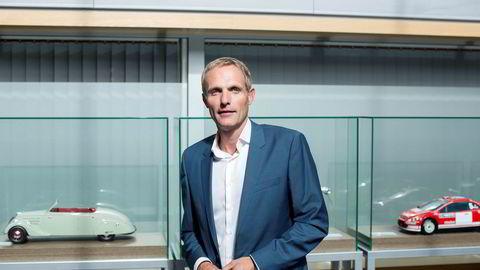 Marius Hayler, overtar ansvaret for importen av Jaguar og Land Rover til Norge. Her er han avbildet da han var sjef for Bertel O. Steen Detalj.