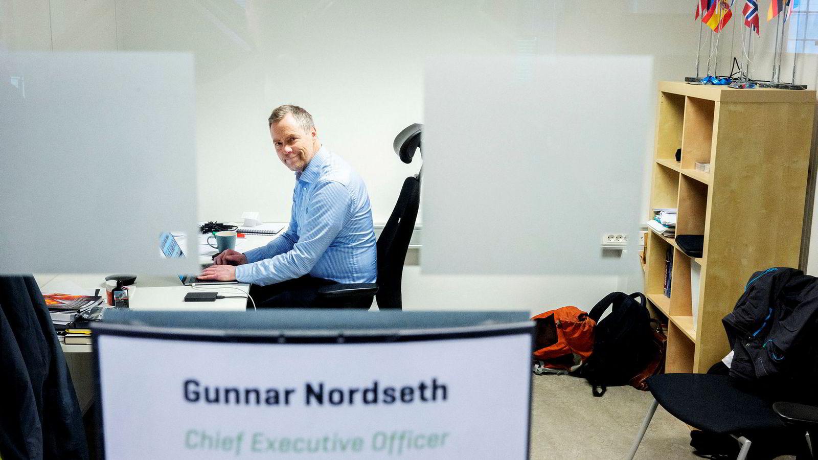 – Dette kan bli en enda mer spennende reise enn vi har hatt frem til nå, sier Gunnar Nordseth, administrerende direktør i Signicat