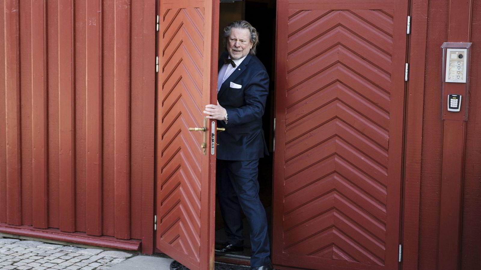 Odd Reitan og Reitangruppen presenterte nytt milliardoverskudd i familievirksomheten på Lade gaard tirsdag.