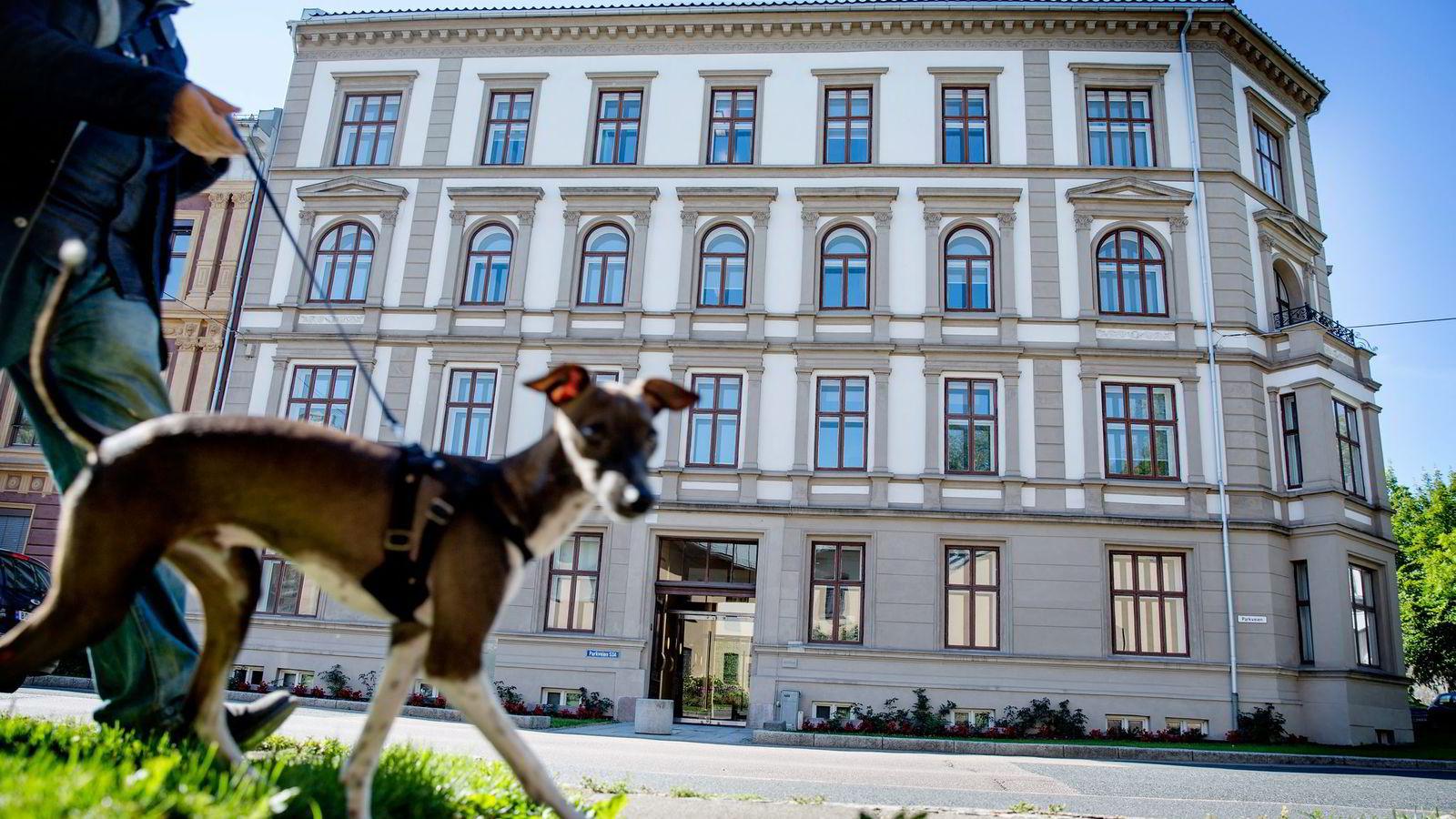 Konsulentselskapet Boston Consulting Groups norske arm gikk med 53 millioner kroner i underskudd ifjor. Samtidig hadde de ansatte en snittlønn på 3,9 millioner. Her BCGs lokaler i Oslo. Foto: Fredrik Bjerknes