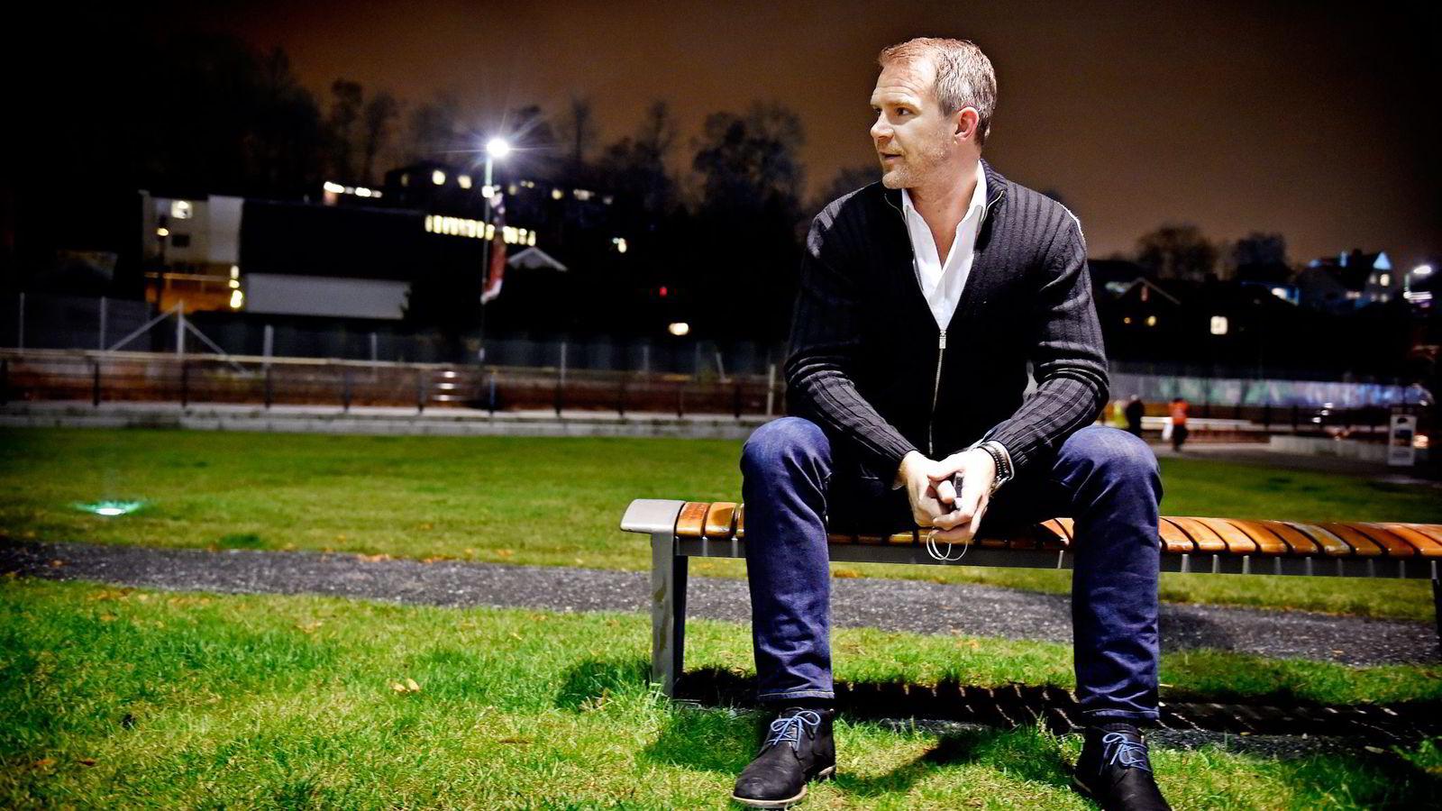 Fotballagent Jim Solbakken har nesten ikke omsetning i Norge, men selger spillere til tyske og engelske klubber. Foto: Bjørn S. Delebekk, VG/NTB Scanpix