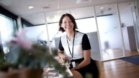 Skagens investeringsdirektør Alexandra Morris har vært én uke i ny jobb. Foto: Tomas Larsen