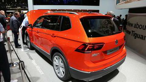 Volkswagen Tiguan Allspace kan etter hvert utgjøre nesten halvparten av Tiguan-salget i Norge.
