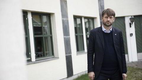 Eirik Lae Solberg, finansbyråd i Oslo. Foto: Thomas Haugersveen