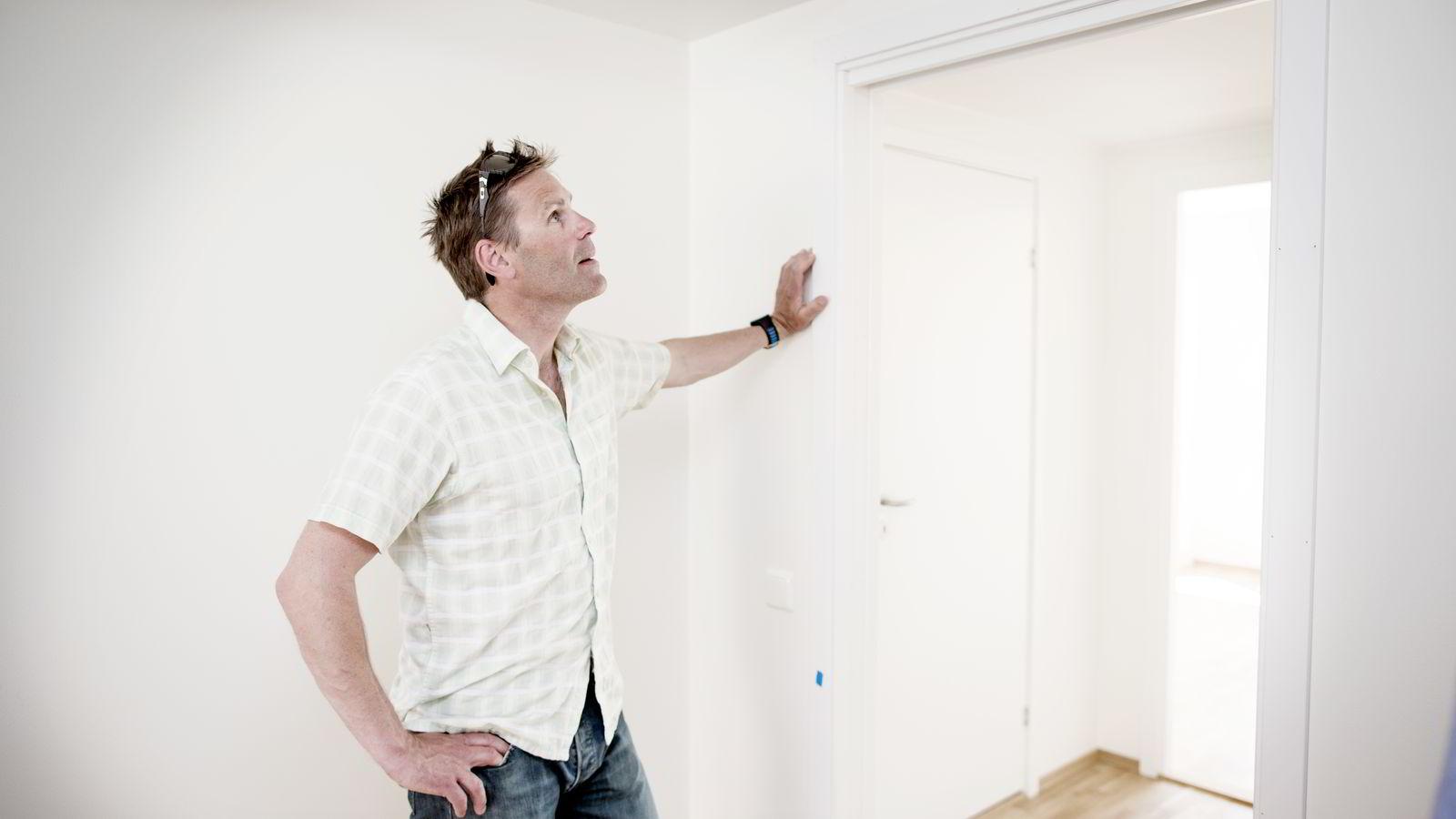 Ingard Langseth fra Oppdal kjøpte en leilighet på Ensjø i Oslo som han overtar nå.  Foto: Ida von Hanno Bast
