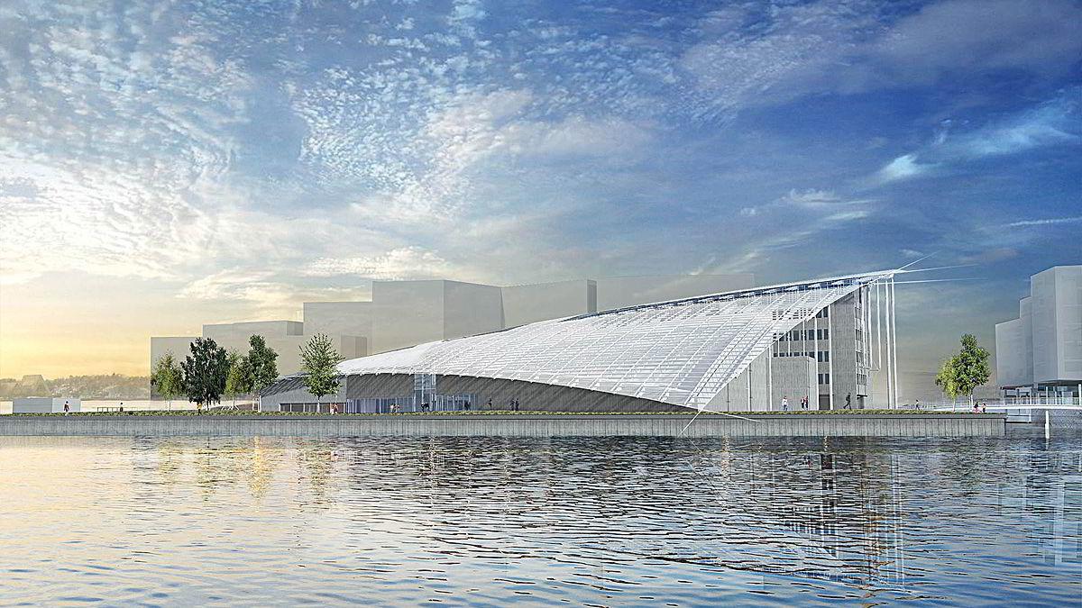 Det nye museet er på 8000 kvadratmeter, fire ganger så stort som dagens museum.