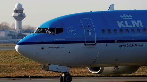 KLM setter flere fly på bakken på grunn av uvær.