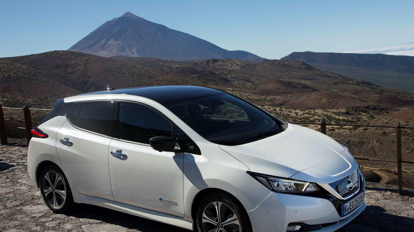 Nissan Leaf er forhåndssolgt i 6500 eksemplarer i Norge.
