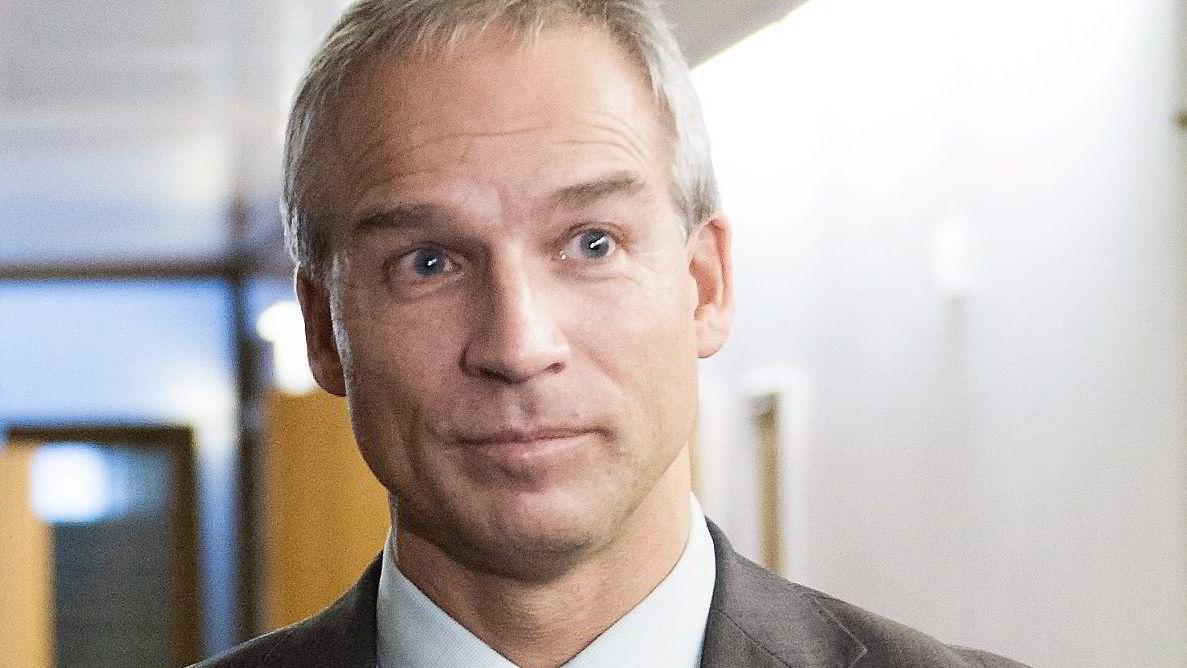 Leder av Stortingets finanskomité, Hans Olav Syvertsen i KrF.