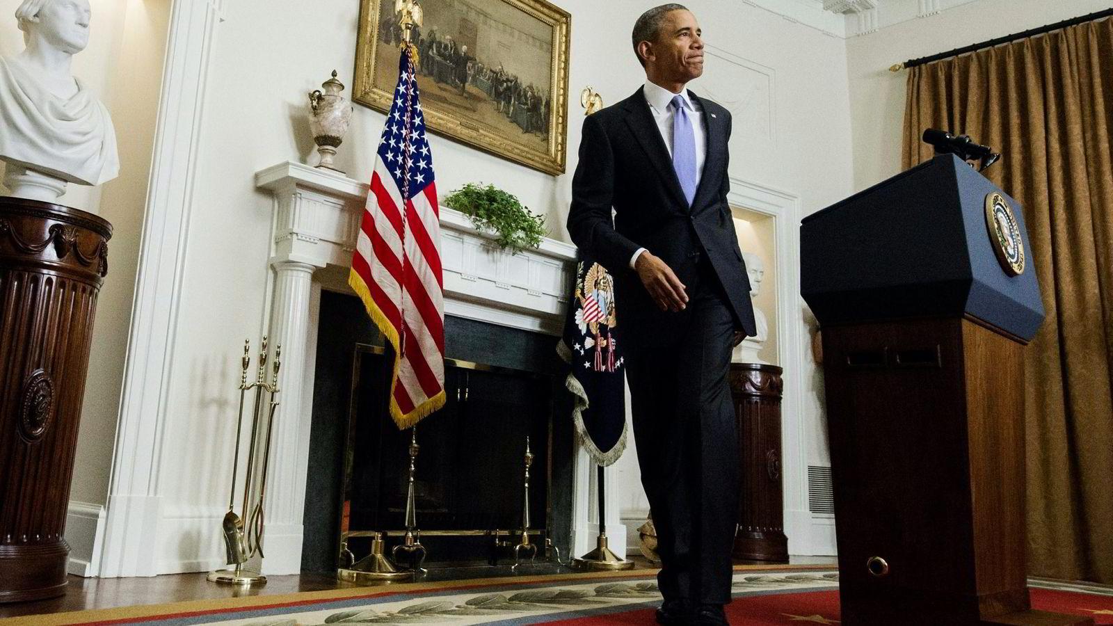 USAs president Barack Obama. Foto: Saul Loeb, AFP/NTB Scanpix