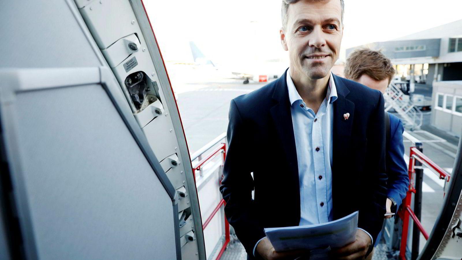 KrF-leder Knut Arild Hareide og partiet står overfor et vanskelig veivalg.