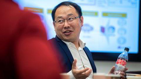 Lucas Tan leder Huawei Technologies i Norge.
