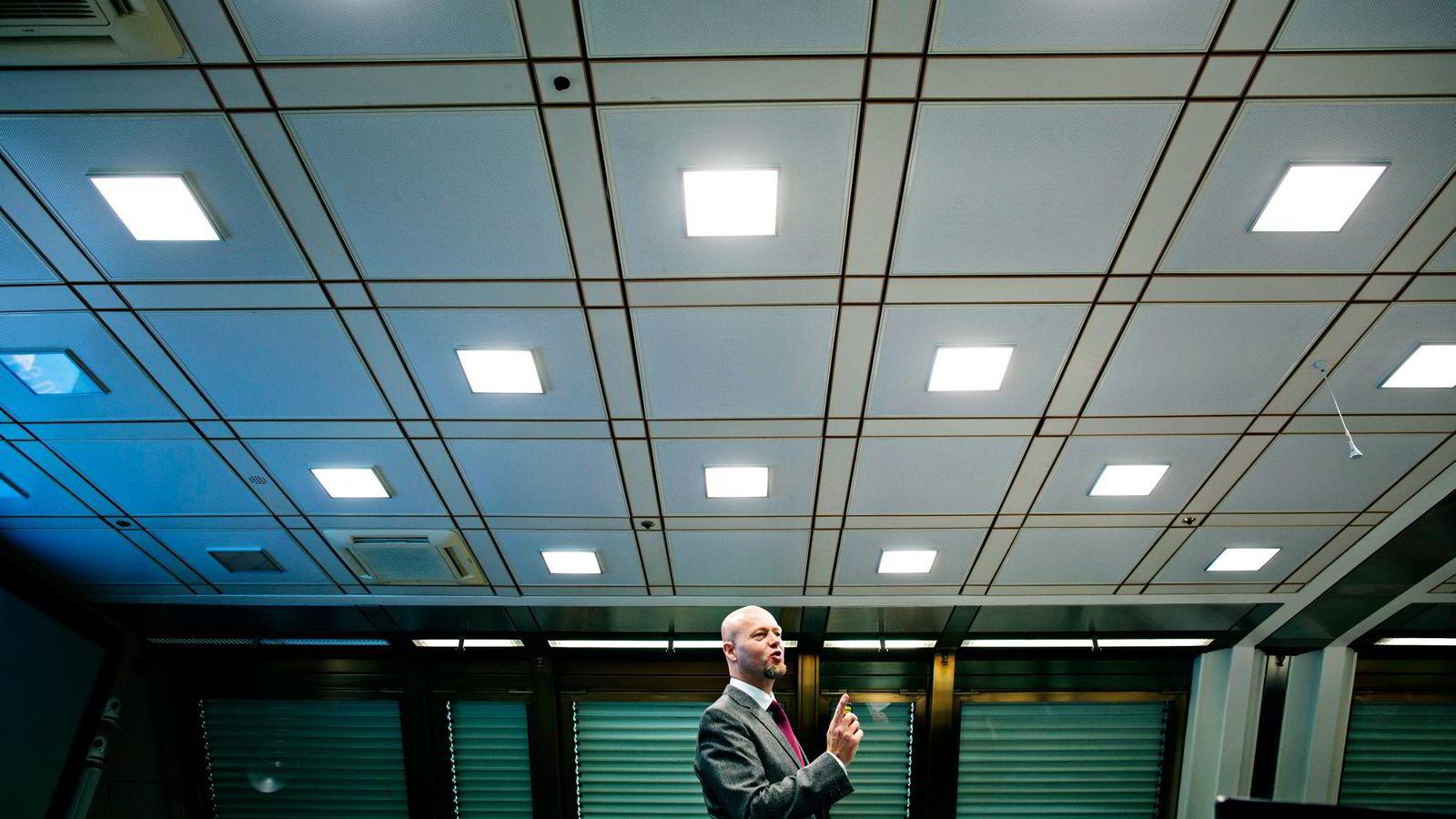 Oljefondet og toppsjef Yngve Slyngstad har mer penger i skatteparadiser enn i Sverige. Foto: