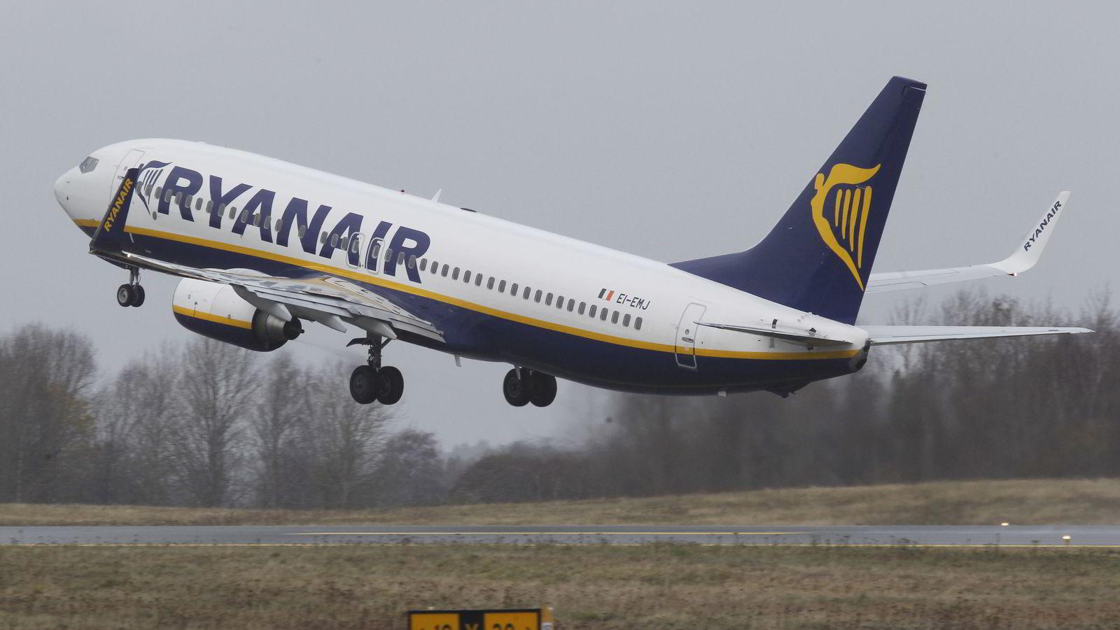 Ryanair. Foto: Morten Holm,