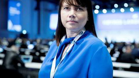 Høyres arbeidspolitiske talsperson Heidi Nordby Lunde står i spissen for partiets forslag om å fjerne aldersgrensen for ansatte i privat sektor.