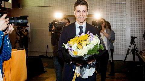 Knut Arild Hareide åpnet KrF-landsmøtet torsdag.