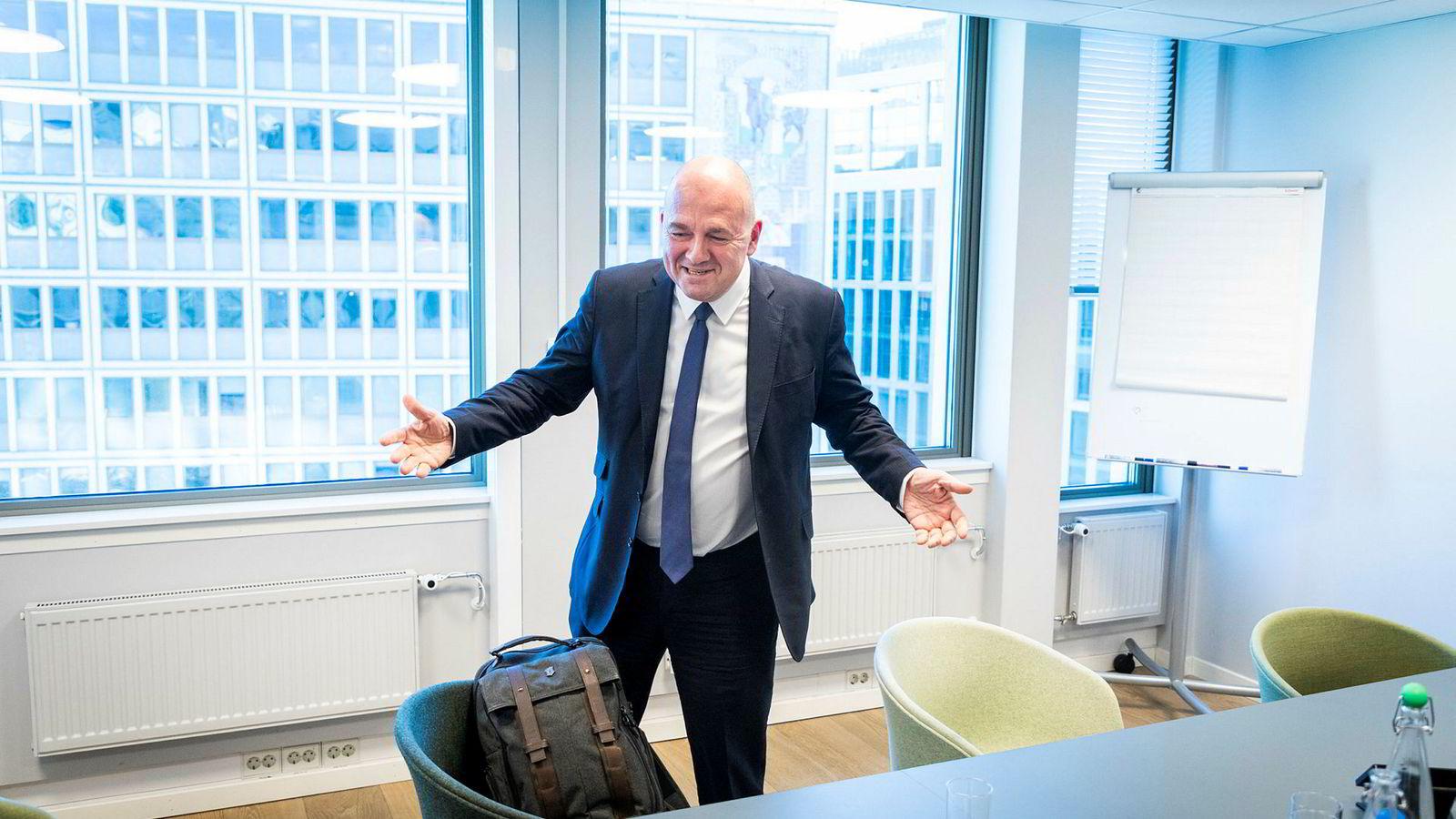 bcc95277 Finanstilsynet anbefaler at Finansdepartementet godkjenner budet som  Euronext-sjef Stéphane Boujnah har fremsatt på vegne