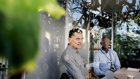 Seriegründer Rune Freyer har bygget vannkraftverk i Uganda, godt hjulpet av den Sandnes-baserte ingeniøren Asa Katama, som opprinnelig er fra landet.