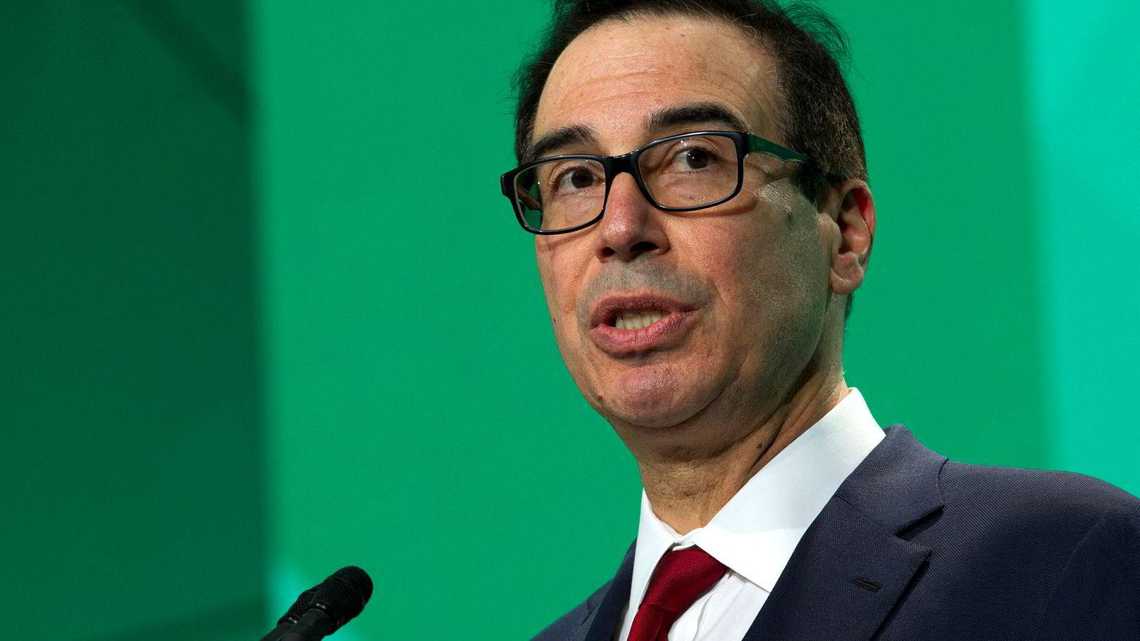 Presidentens selvangivelser vil ikke bli frigitt, ifølge USAs finansminister Steven Mnuchin.