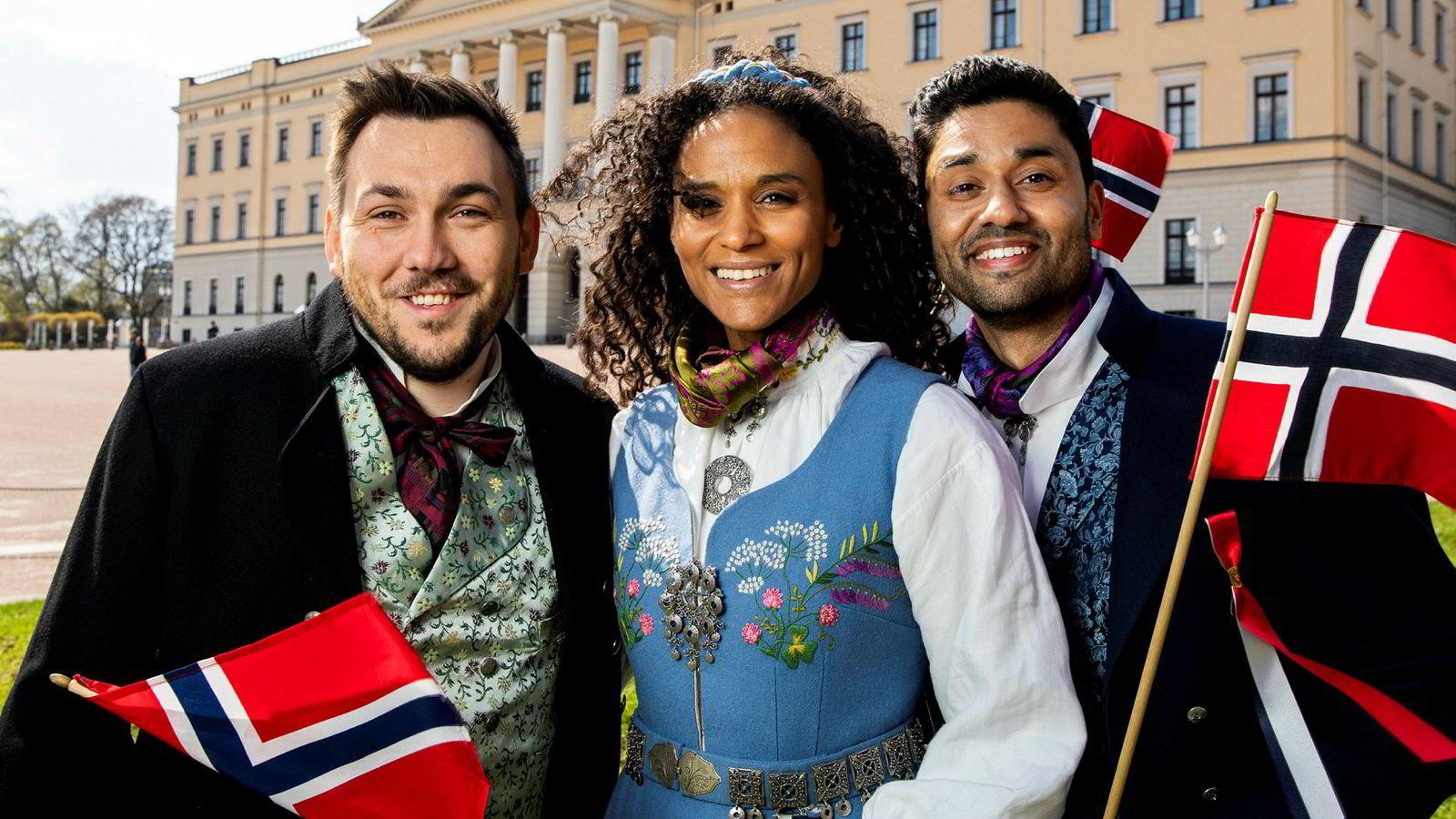 5e1e6082 Noman Mubashir om NRKs omstridte 17.mai-sending: – Hyggelig for ...