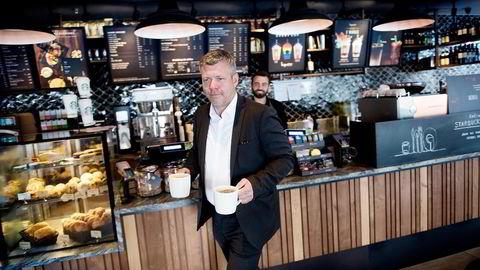 Umoe Restaurants konsernsjef Sverre Helno jobber med en plan B for å berge pizza-fusjonen mellom Dolly Dimples og Peppes Pizza.                    Foto: Per Ståle Bugjerde