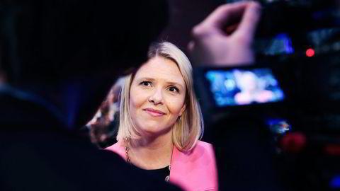 Integreringsminister Sylvi Listhaug (Frp) er sterk motstander av forslaget om å gi asylsøkere uten id-papirer arbeidstillatelse. Foto: Lise Åserud / NTB scanpix
