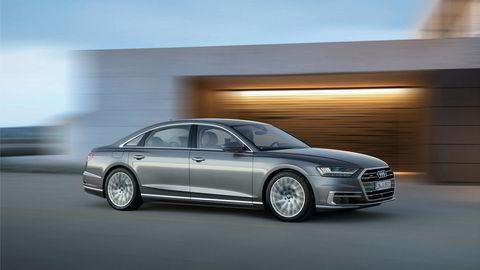Dette er den nye toppmodellen fra Audi: A8.