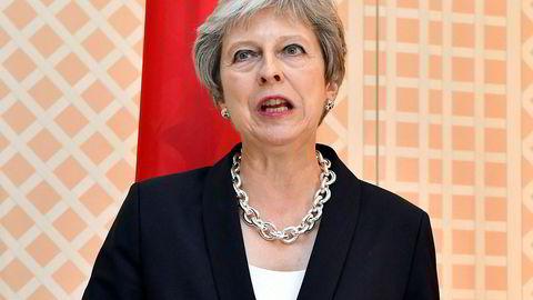 Statsminister Theresa May må belage seg på tøffe politiske slag også denne høsten.