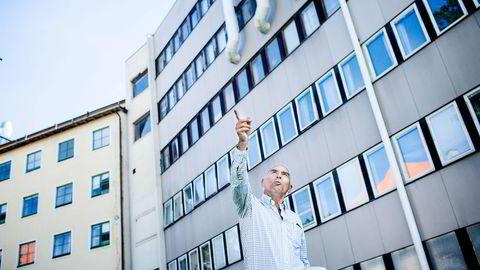 Hotelleier Arthur Buchardt spurte borgermesteren i Helsingfors om han fikk bygge nok et hotell. Det fikk han. Foto: Adrian Nielsen