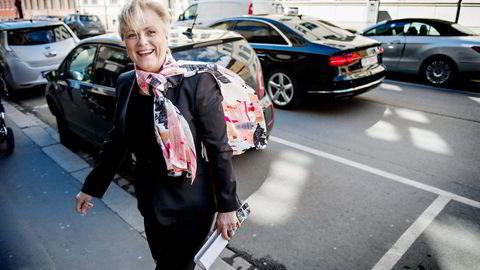 Kulturminister Thorild Widvey presenterte filmmeldingen for ikke lenge siden. Nå kommer allmennkringkastingsmeldingen. Foto: Fartin Rudjord
