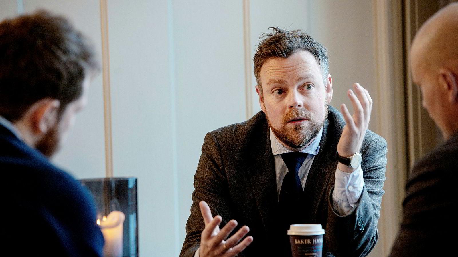 Torbjørn Røe Isaksen Høyre ---